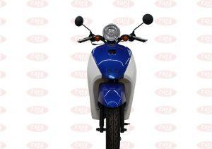 Xe tay ga 50cc màu xanh dương 2