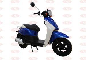 Xe tay ga 50cc màu xanh dương