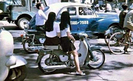 xe cub đã phổ biến từ thế kỉ trước